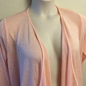 NWOT - Michael Kors - drape front wrap - size L